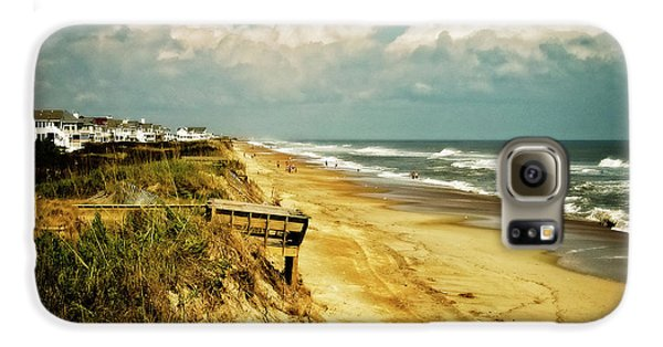 Beach At Corolla Galaxy S6 Case