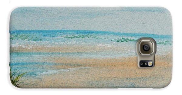 Beach At High Tide Galaxy S6 Case
