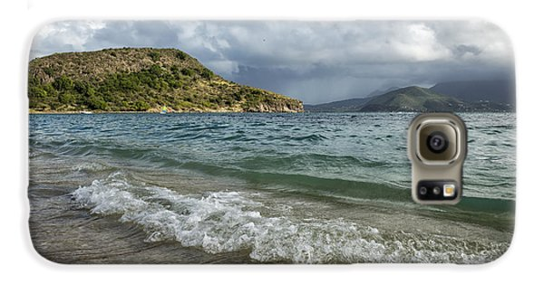 Beach At St. Kitts Galaxy S6 Case