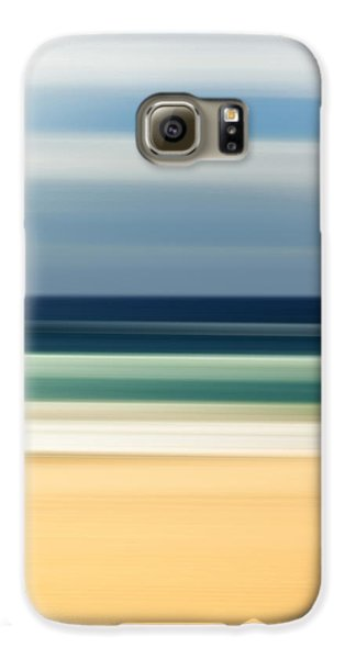 Beach Pastels Galaxy S6 Case by Az Jackson