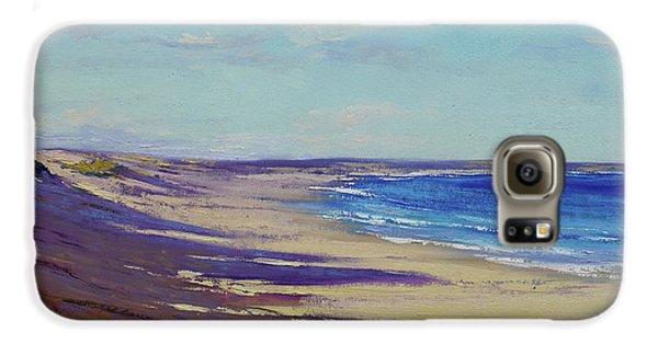 Impressionism Galaxy S6 Case - Beach Sand Shadows by Graham Gercken