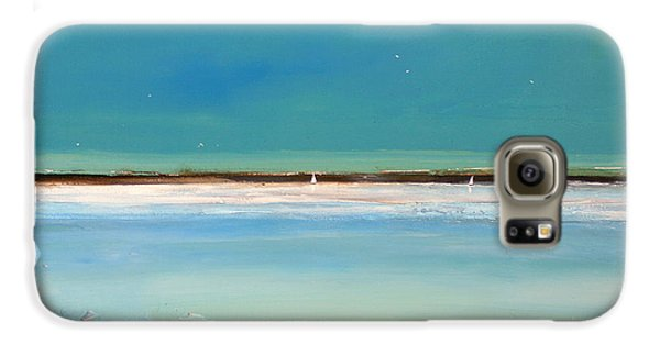 Beach Textures Galaxy S6 Case