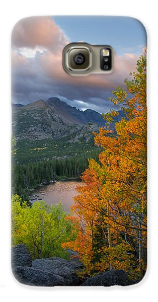 Bear Lake Autumn Galaxy S6 Case