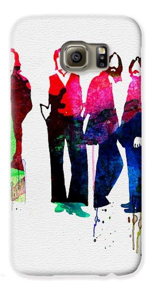 Musicians Galaxy S6 Case - Beatles Watercolor by Naxart Studio