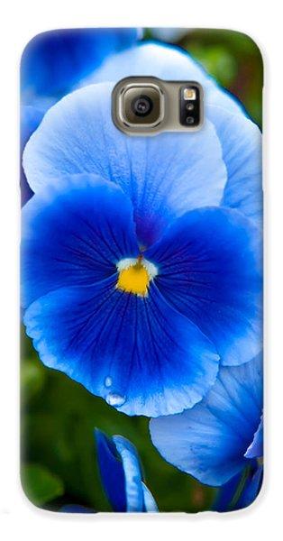 Colours Galaxy S6 Case - Beautiful Blues by Az Jackson