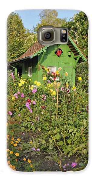 Beautiful Colorful Flower Garden Galaxy S6 Case by Matthias Hauser
