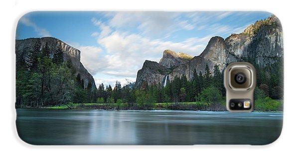 Yosemite National Park Galaxy S6 Case - Beautiful Yosemite by Larry Marshall