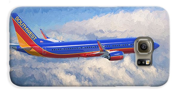 Airplane Galaxy S6 Case - Beauty In Flight by Garland Johnson