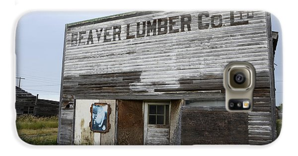 Beaver Lumber Company Ltd Robsart Galaxy S6 Case by Bob Christopher