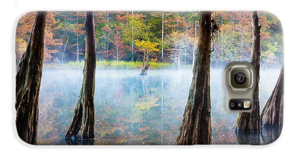 Beavers Bend Cypress Grove Galaxy S6 Case by Inge Johnsson