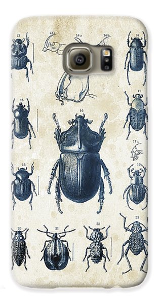 Beetles - 1897 - 02 Galaxy S6 Case by Aged Pixel