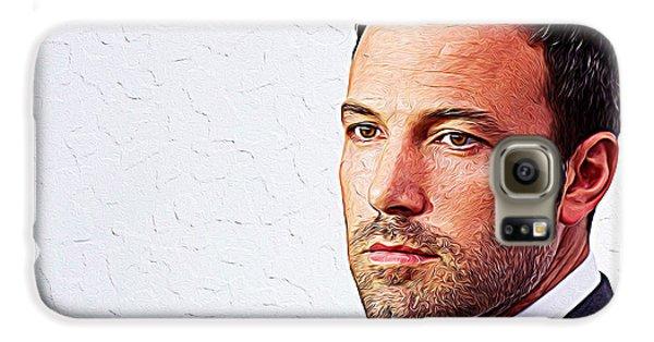 Ben Affleck Galaxy S6 Case by Iguanna Espinosa
