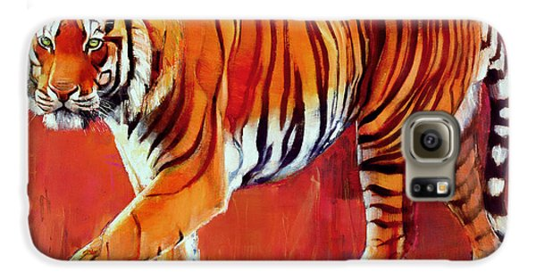 Bengal Tiger  Galaxy S6 Case by Mark Adlington
