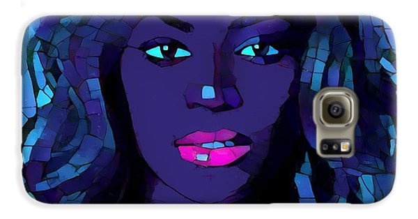 Beyonce Graphic Abstract Galaxy S6 Case by Dan Sproul