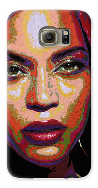Beyonce Galaxy S6 Case by Maria Arango