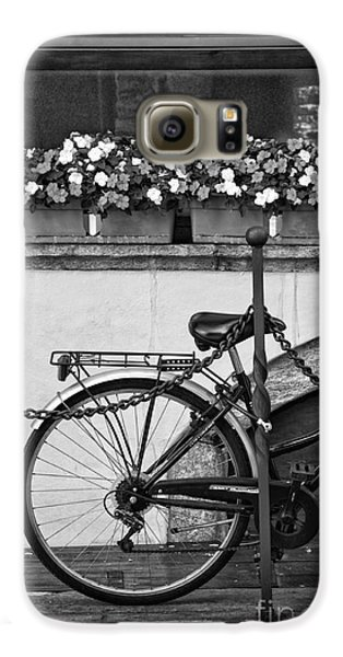 Bicycle With Flowers Galaxy S6 Case