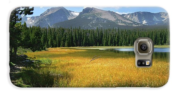 Galaxy S6 Case featuring the photograph Autumn At Bierstadt Lake by David Chandler