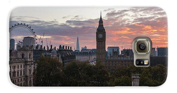 Big Ben London Sunrise Galaxy S6 Case by Mike Reid
