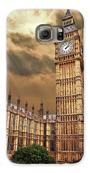 London Galaxy S6 Case - Big Ben's House by Meirion Matthias