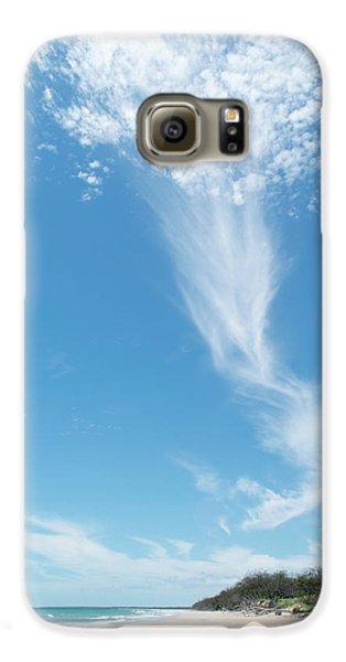 Big Sky Beach Galaxy S6 Case