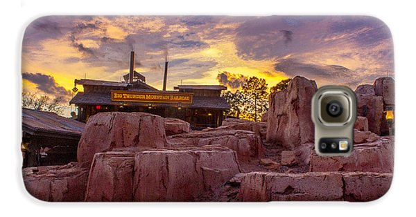 Big Thunder Mountain Sunset Galaxy S6 Case