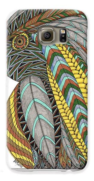 Bird_inquisitive_s007 Galaxy S6 Case