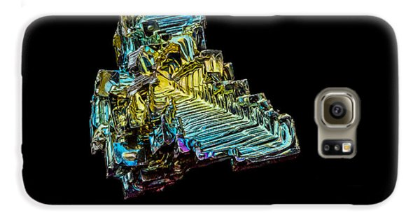 Galaxy S6 Case featuring the photograph Bismuth Crystal by Rikk Flohr
