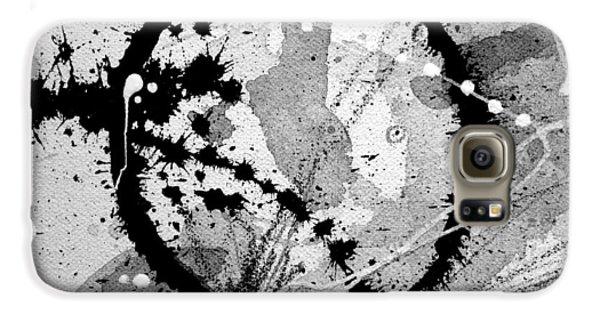 Black And White Five Galaxy S6 Case