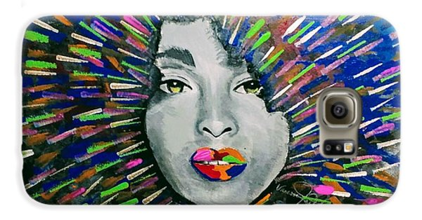 Black Girl Magic Galaxy S6 Case