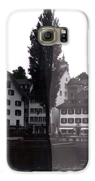 Black Lucerne Galaxy S6 Case by Christian Eberli