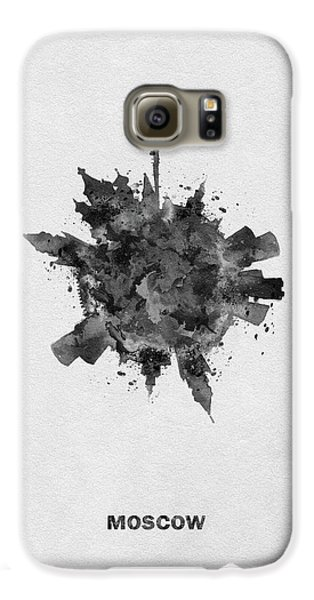 Black Skyround Art Of Moscow, Russia Galaxy S6 Case