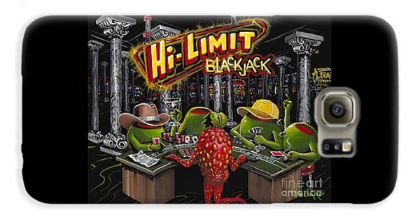 Martini Galaxy S6 Case - Blackjack Pimps by Michael Godard
