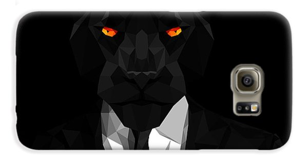 Blacl Panther Galaxy S6 Case by Gallini Design