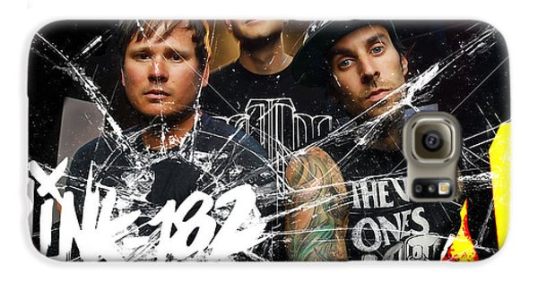Blink 182 Collection Galaxy S6 Case by Marvin Blaine