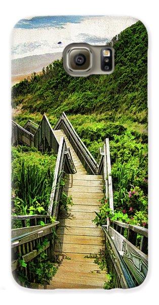 Landscapes Galaxy S6 Case - Block Island by Lourry Legarde