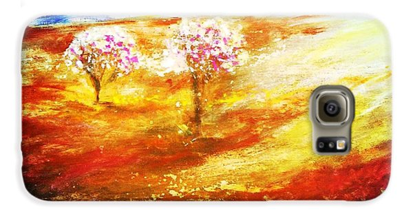 Blossom Dawn Galaxy S6 Case by Winsome Gunning