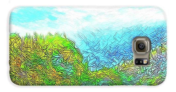 Blue Green Mountain Vista - Colorado Front Range View Galaxy S6 Case