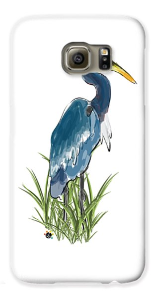 Blue Heron Galaxy S6 Case
