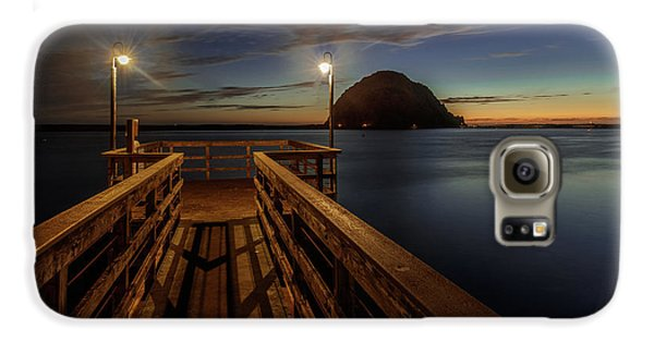 Blue Hour At Morro Bay Galaxy S6 Case