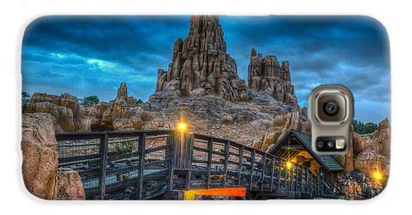 Blue Hour Over Big Thunder Mountain Galaxy S6 Case