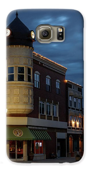 Blue Hour Over The Clock Tower Galaxy S6 Case