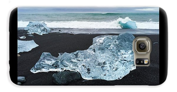 Blue Ice In Iceland Jokulsarlon Galaxy S6 Case