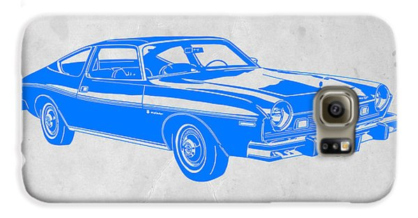 Beetle Galaxy S6 Case - Blue Muscle Car by Naxart Studio