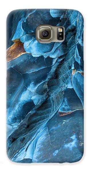 Landscapes Galaxy S6 Case - Blue Pattern 1 by Jonathan Nguyen