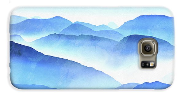 Galaxy S6 Case - Blue Ridge Mountains by Edward Fielding