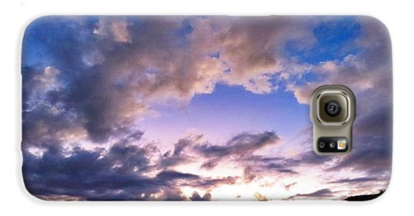 Blue Sunset Galaxy S6 Case