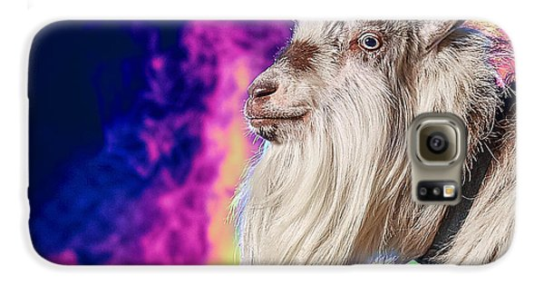 Blue The Goat In Fog Galaxy S6 Case