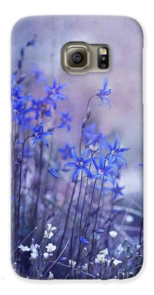 Flowers Galaxy S6 Case - Bluebell Heaven by Priska Wettstein