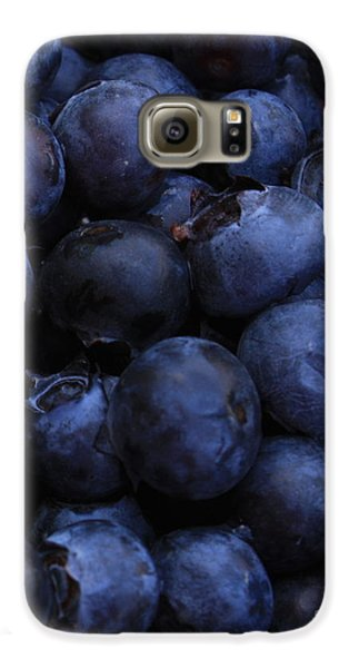 Blueberries Close-up - Vertical Galaxy S6 Case