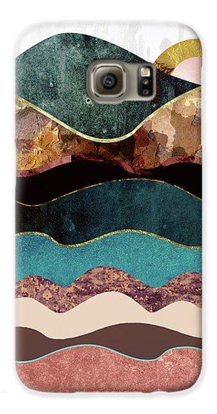 Landscapes Galaxy S6 Case - Blush Moon by Katherine Smit